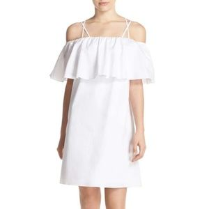 Amanda Uprichard Kiara Off the Shoulder Dress